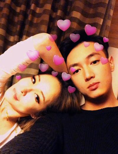 Diva Đài Loan yêu bạn trai kém 16 tuổi