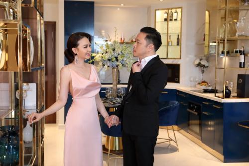 Căn hộ với thiết kế tinh tế sang trọng, không gian thoáng đãng, ngập ánh sáng là ưu tiên hàng đầu của vợ chồng Victor Vũ