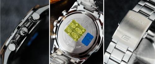 Casio ra mắt đồng hồ Edifice kính sapphire, vỏ siêu mỏng - ảnh 3