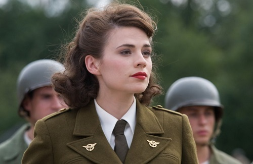 Hayley Atwell trong Captain America: The First Avenger. Ảnh Paramount.