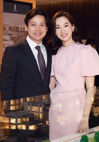 Thu Thảo và chồng. Ảnh: Hải Nguyễn.