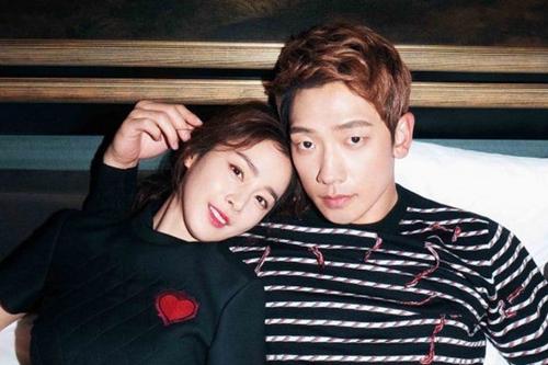 Kim Tae Hee và Bi Rain. Ảnh: Bazaar.