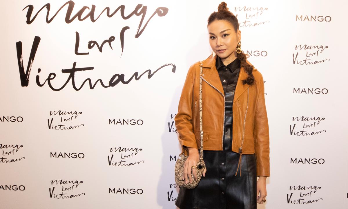 Thanh Hằng là gương mặt đại diện thương hiệu của Mango Việt Nam - Giải Trí