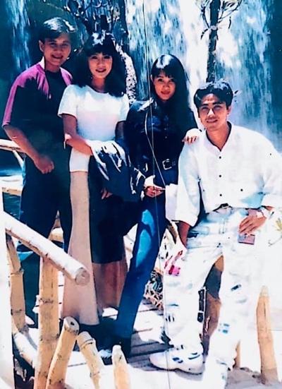 Từ trái qua: Lê Công Tuấn Anh, diễn viên Trịnh Kim Chi, cựu người mẫu Minh Anh, diễn viên Quyền Linh. Ảnh: QL.