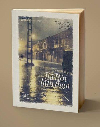 Bìa tác phẩm Hà Nội lầm than được xuất bản năm 2015.