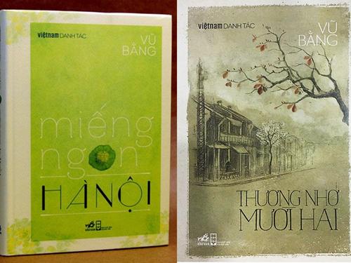 Miếng ngon Hà Nội và Thương nhớ Mười hai nằm trong tuyển tập Việt Nam danh tác do NXB Hội nhà văn Việt Nam và Nhã Nam phát hành.