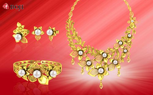 DOJI ưu đãi tới 65% tiền công trang sức vàng 24k - ảnh 2