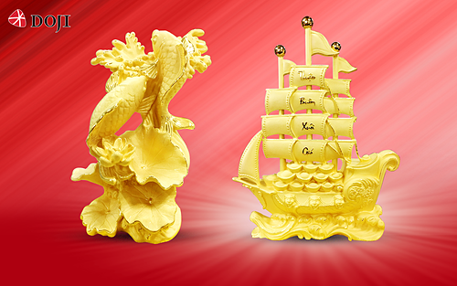 DOJI ưu đãi tới 65% tiền công trang sức vàng 24k - ảnh 4