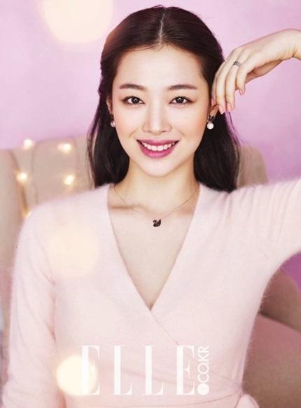Ca sĩ kiêm diễn viên cũng nhiều lần xuất hiện trên trang bìa tạp chí danh tiếng Elle.