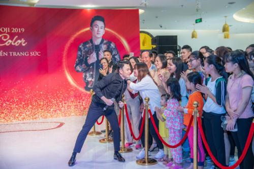 Dương Triệu Vũ khuấy động sân khấu Tuần lễ Trang sức DOJI - ảnh 3