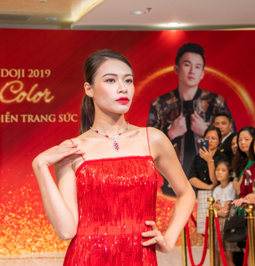 Dương Triệu Vũ khuấy động sân khấu Tuần lễ Trang sức DOJI - ảnh 5
