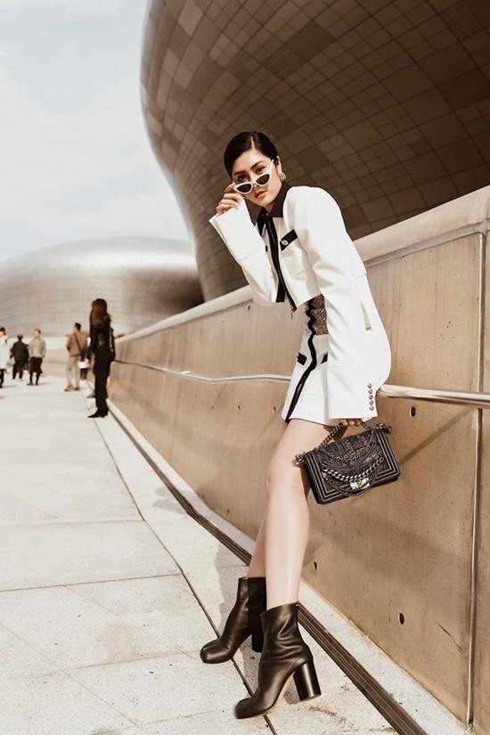 Sao Việt khoe phong cách tại Seoul Fashion Week