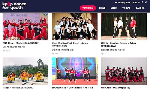 ĐH Dược Hà Nội chiến thắng tuần 2 vòng Online 'Kpop Dance For Youth'