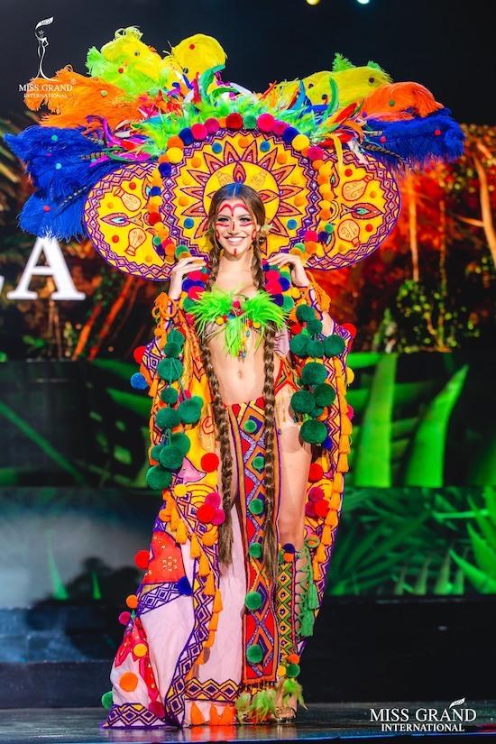 Trang phục dân tộc của thí sinh Miss Grand International