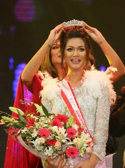 Hoa hậu Hoàn vũ Bangladesh đầu tiên - ảnh 1