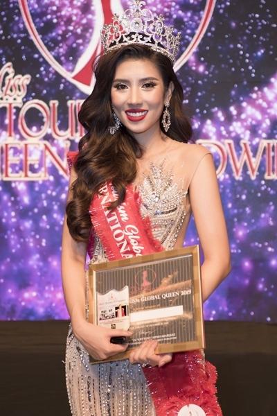 Yến Nhung vào Top 3 Hoa hậu Du lịch Thế giới - ảnh 1