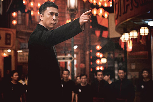 Chan Tu Dan tung vo trong 'Diep Van 4'