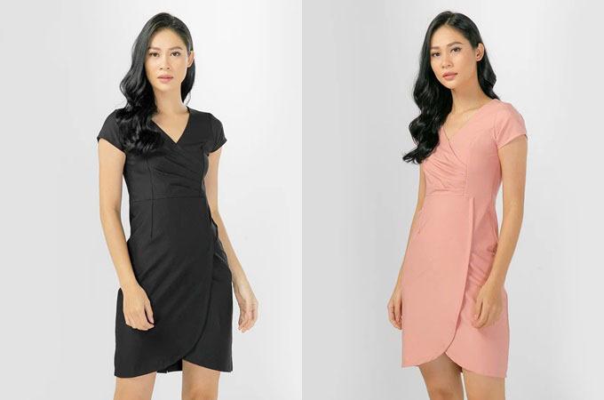 Đầm đơn sắc cho người chuộng gu tối giản