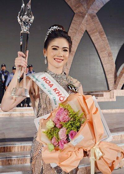 Bùi Kim Quyên đoạt giải Người đẹp xứ dừa 2019. Ảnh: Song Lý - Hữu Lê.