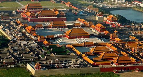 Hoành Điếm - trường quay lớn nhất Trung Quốc. Ảnh: Hengdianworld.