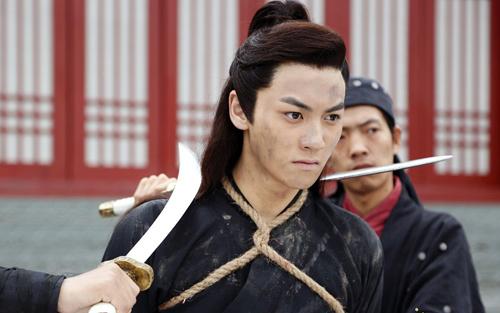 Lưu Soái trong phim Đại hiệp nhật thiên. Ảnh: Baidu.