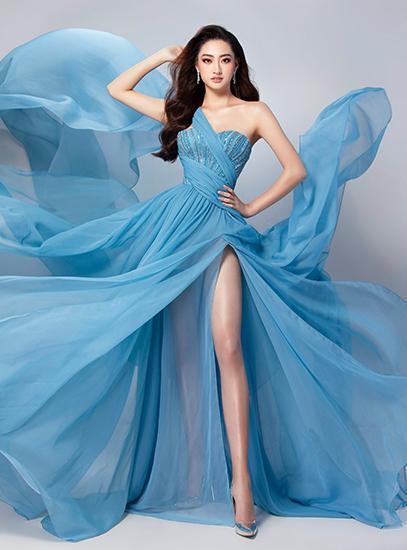 Thùy Linh tiết lộ váy thi catwalk ở Miss World - ảnh 1