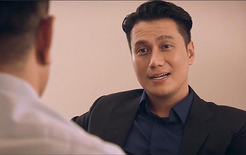 Việt Anh cho rằng phẫu thuậtthẩm mỹ không ảnh hưởng đến diễn xuất của anh khi hóa thân vàonhân vật Vũ. Ảnh: VFC.