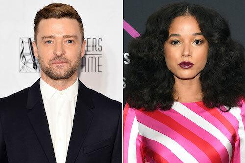 Justin Timberlake và bạn diễn Alisha. Ảnh: Eonline.
