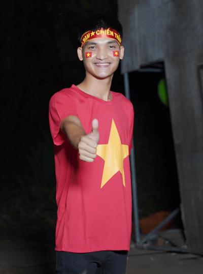 Mạc Văn Khoa cho biết chiến thắng 3-0 của Việt Nam quá sức tưởng tượng với anh. Tôi chỉ dám dự đoán thắng 1-0, anh nói. Ảnh: V.K.
