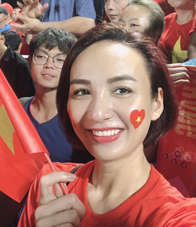 Sao Việt hạnh phúc vì tuyển Việt Nam vô địchSEA Games