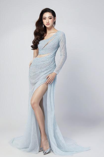 Váy dạ hội của Thùy Linh tại chung kết Miss World - ảnh 2