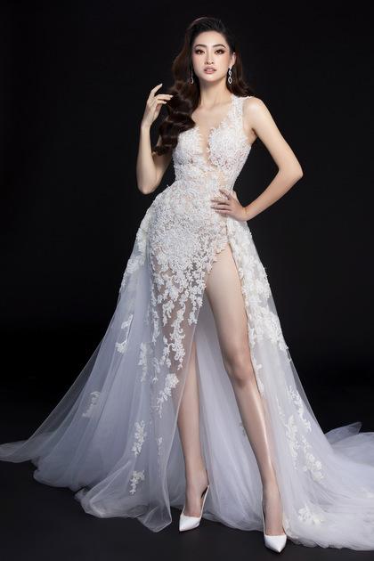 Váy dạ hội của Thùy Linh tại chung kết Miss World - ảnh 1