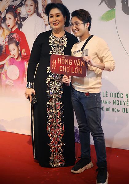 Diễn viên Huỳnh Lập - đàn em nhiều lần được Hồng Vân nâng đỡ trong nghề.