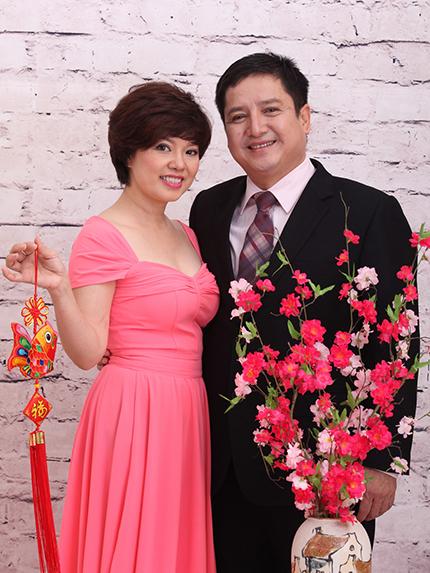 Nghệ sĩ Chí Trung ly dị vợ - diễn viên Ngọc Huyền - từ năm 2018