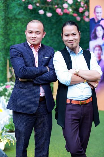 Diễn viên Xuân Nghĩa (trái) và Vượng Râu đối đầu trong phim. Ảnh: V.R.