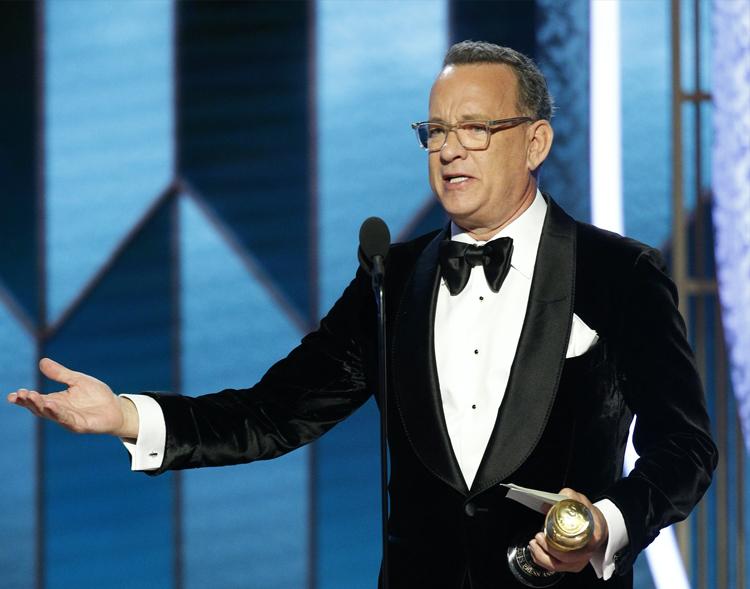 Nam diễn viên Tom Hanks. Ảnh: Reuters.