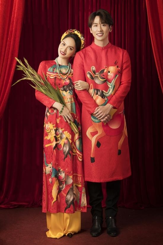 Hương Giang diện áo dài 'Đám cưới chuột'