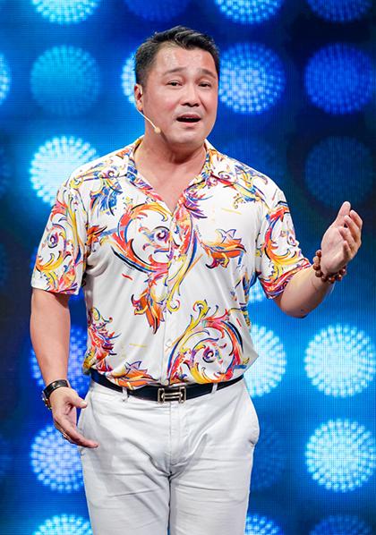 Lý Hùng tham gia chương trình Vang bóng một thời cuối năm 2019. Ảnh: