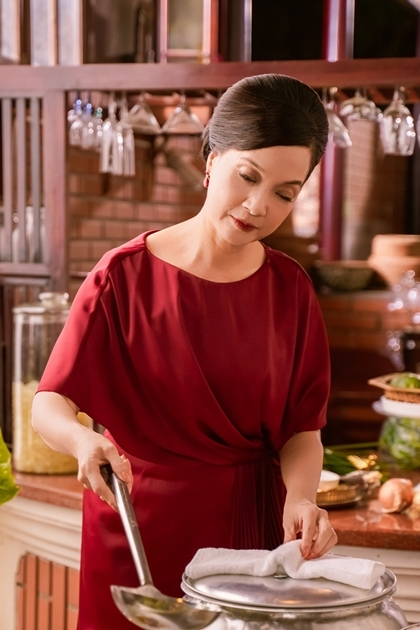 Tạo hình của Lê Khanh trong phim