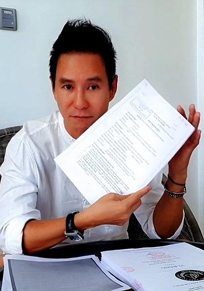 Lý Hải nhận được giấy triệu tập lần ba - vào ngày 20/2 - từ tòa. Ảnh: LT.