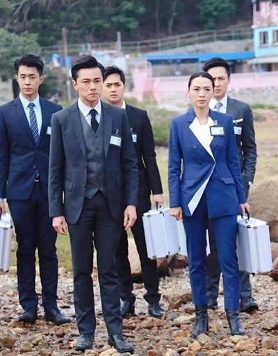 Cảnh phim Bằng chứng thép. Ảnh: TVB.