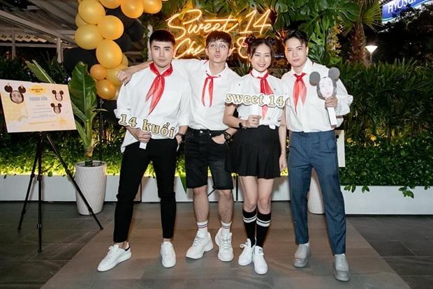 Các cựu thành viên nhóm 365: Will, Jun và S.T(từ trái sang).