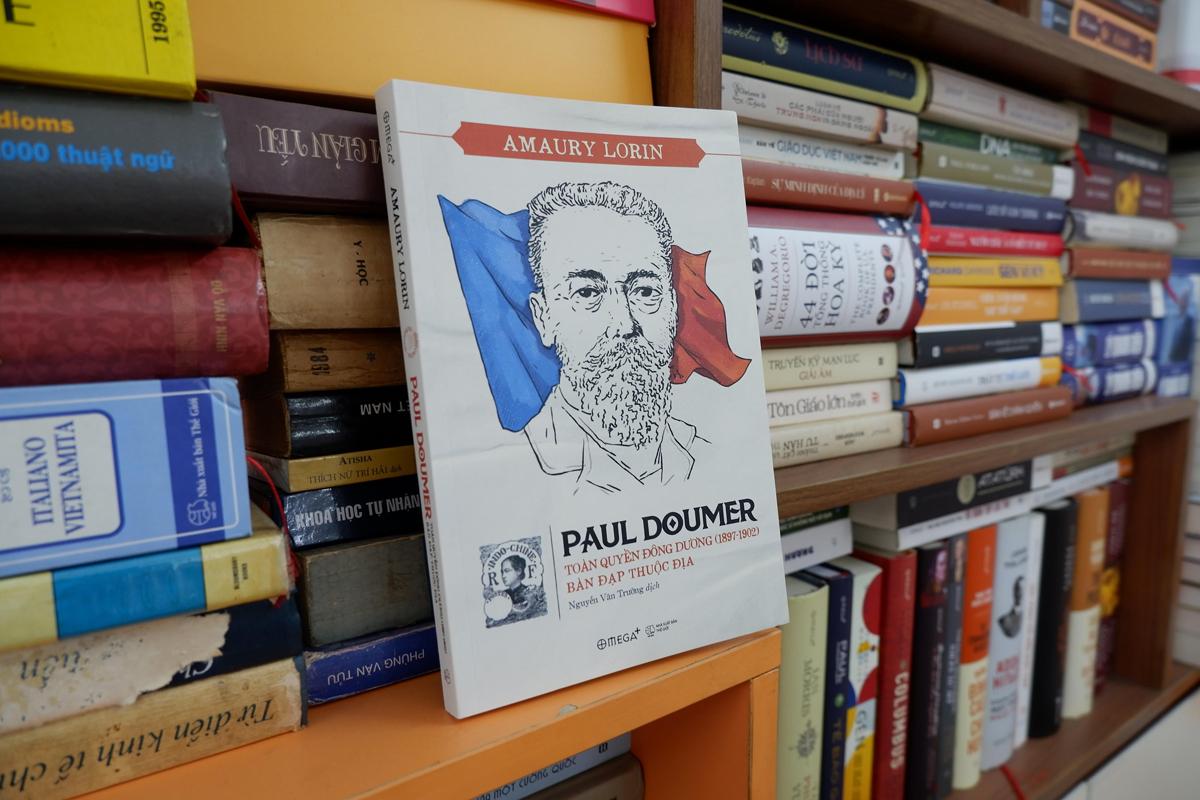Bìa sách Paul Doumer, toàn quyền Đông Dương (1897-1902): Bàn đạp thuộc địa. Ảnh: