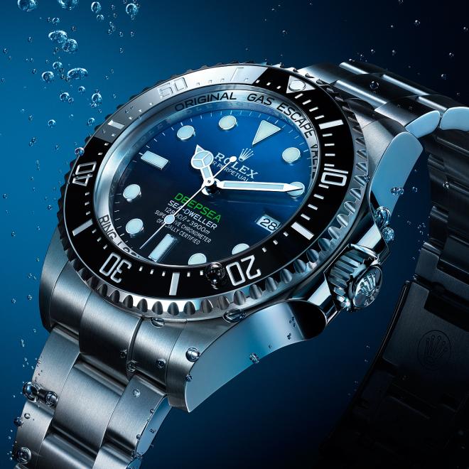 Rolex's Deepsea Sea-Dweller thậm chí còn có giá cao hơn so với ban đầu. Ảnh: Watchtime