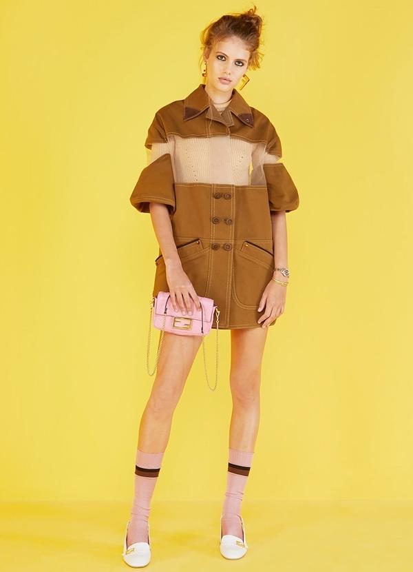 Gợi ý mặc đẹp với trang phục Fendi