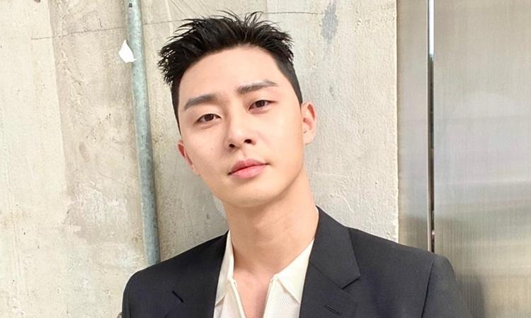 Park Seo Joon thu hút với kiểu tóc mới - Giải Trí