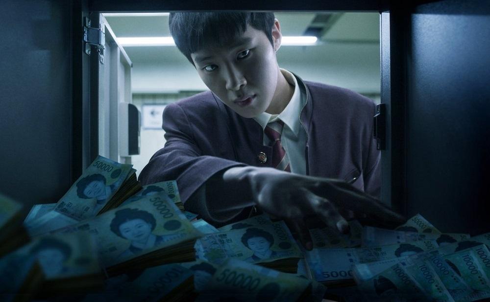 Tài tử Kim Dong-hee trong phim. Ảnh: Netflix.