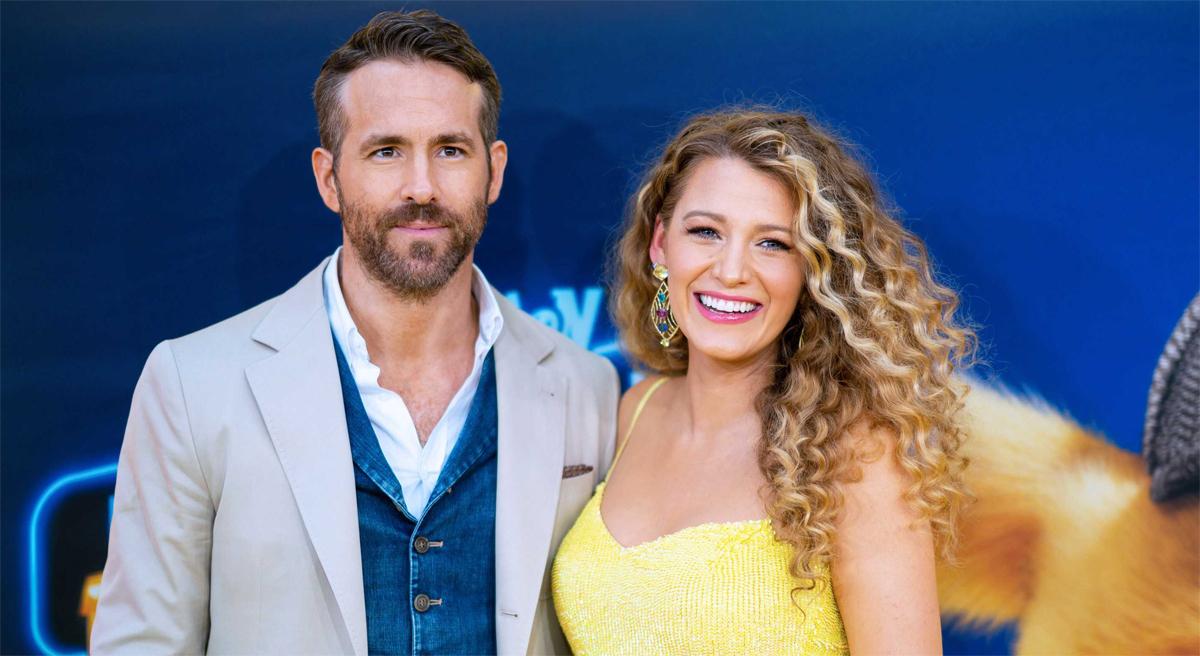 Ryan Reynolds và vợ Blake Lively tại buổi công chiếu phim Pokémon Detective Pikachu của tài tử năm ngoái. Ảnh: FilmMagic.