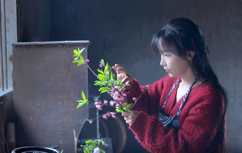 Tiên nữ Tứ Xuyên Lý Tử Thất. Ảnh: Weibo.