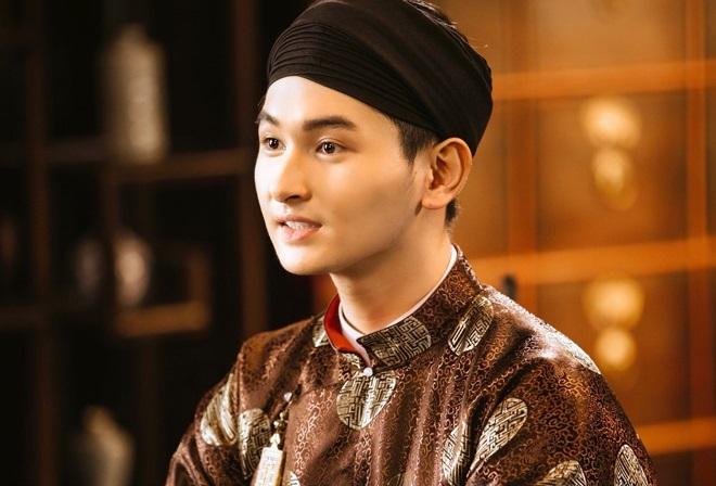 Minh Khải vào vai Hồng Nhậm. Anh là con nuôi nghệ sĩ Minh Nhí, từng đóng phim Ngốc ơi tuổi 17. Ảnh: Pops.